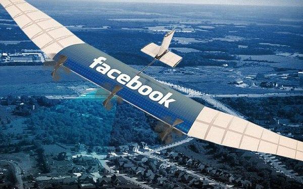 Máy bay phát sóng trong dự án của Facebook